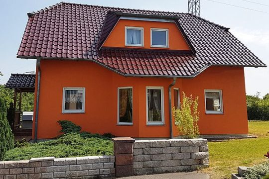 Automatisch gespeicherter Entwurf - Das Dach eines Hauses - Haus