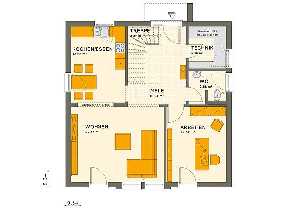 SUNSHINE Erfurt - Eine Nahaufnahme von einer Karte - UNGER-Park Musterhausausstellung Erfurt