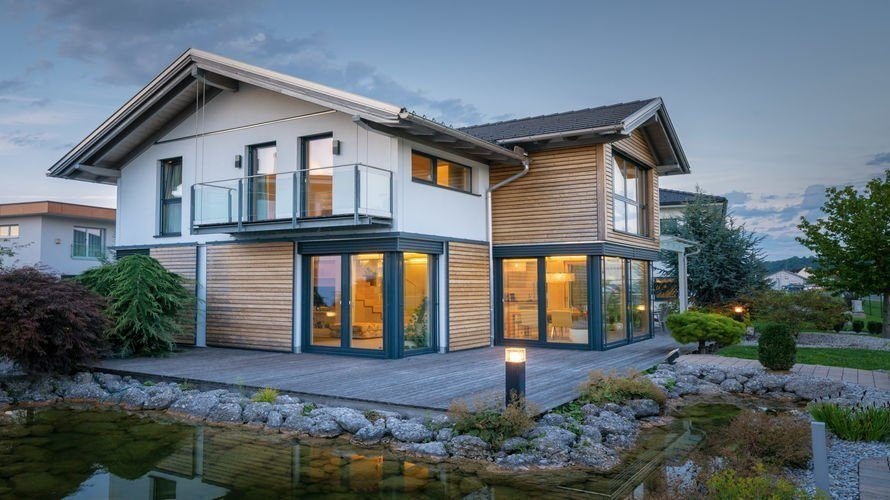 Griffner blaue lagune wien Haus bauen