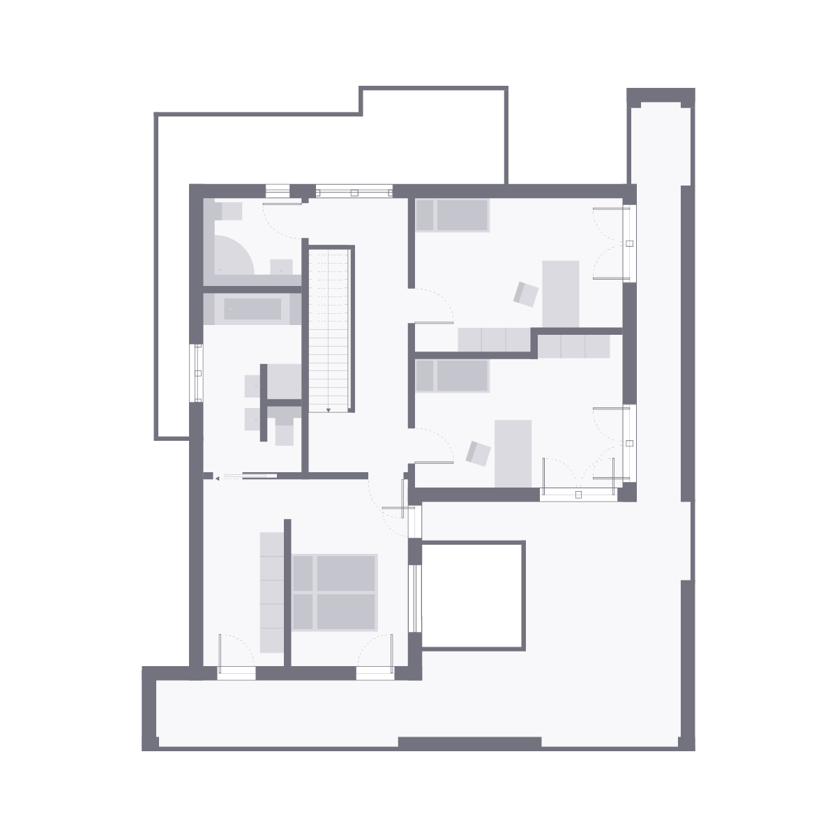 Musterhaus Wuppertal - Gebäudeplan