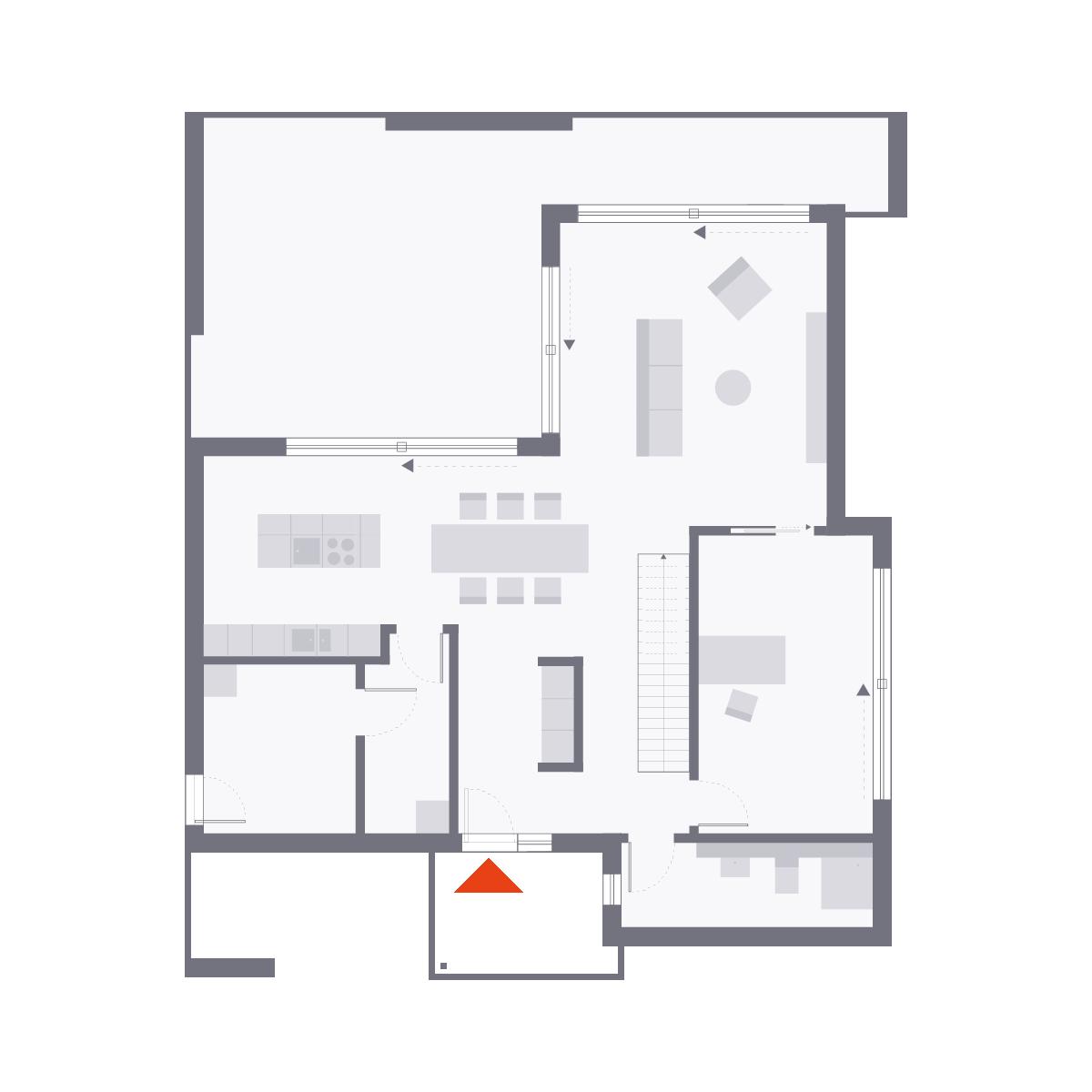 Musterhaus Wuppertal - Ein Screenshot eines Videospiels - Die Architektur
