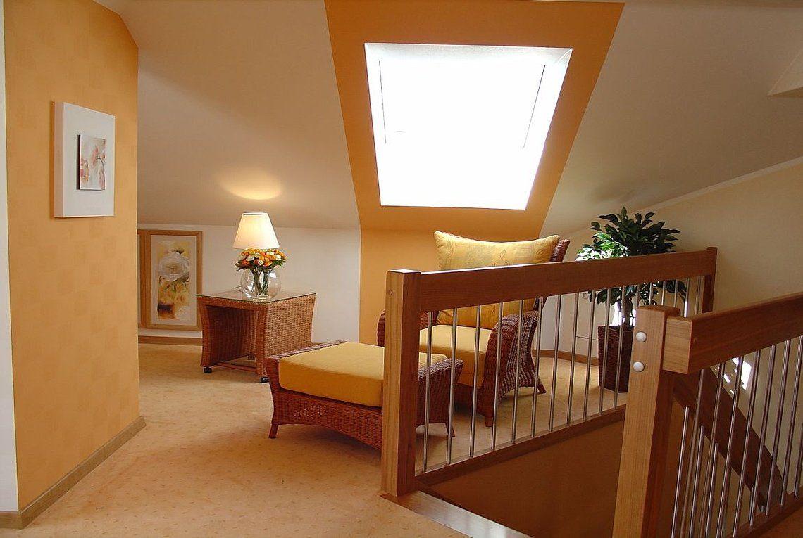 Musterhaus Riviera - Ein Blick auf ein Wohnzimmer - Rensch Team Müller