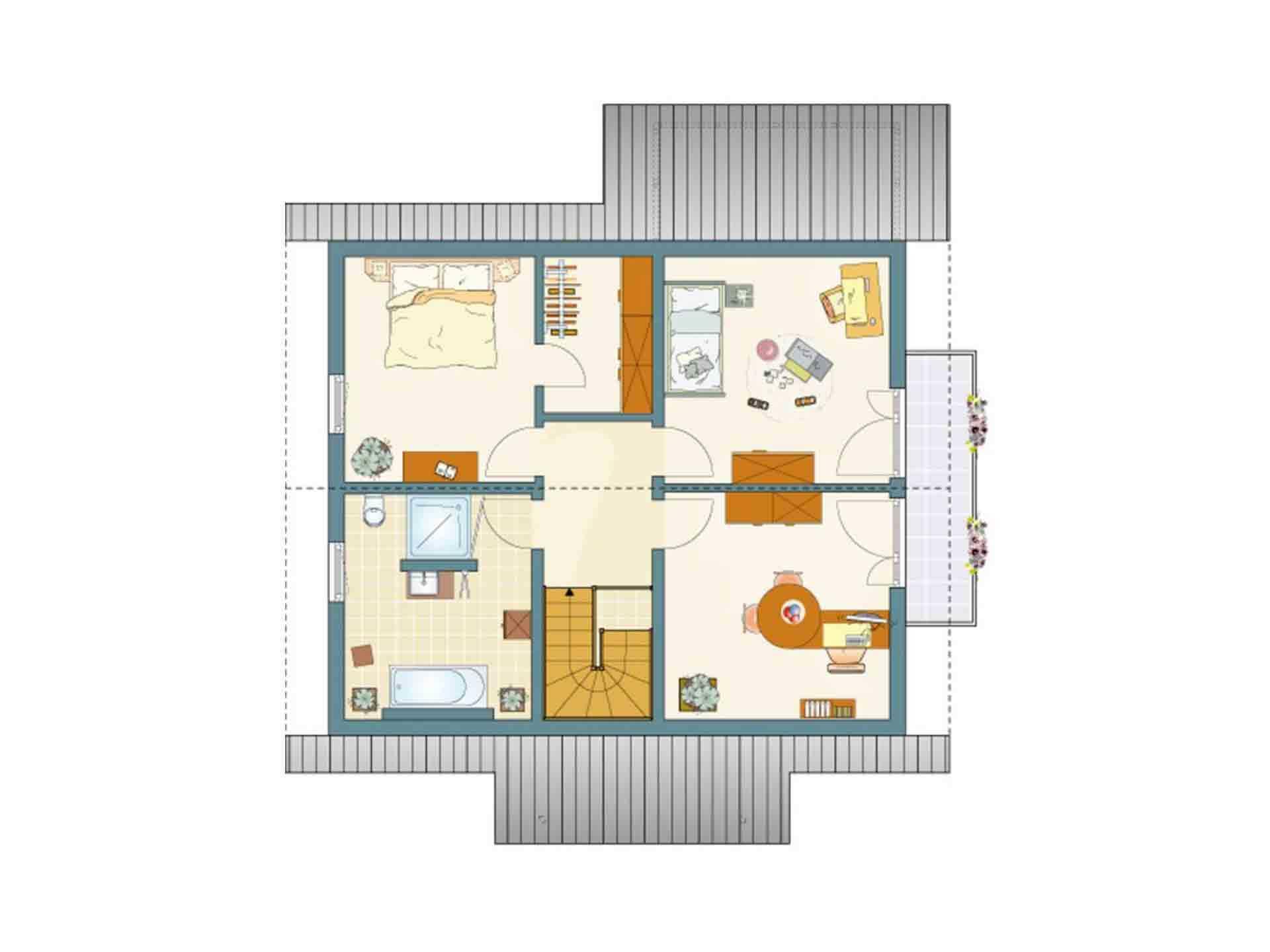 Medley 410 Sonderedition - Ein Screenshot eines Videospiels - Gebäudeplan