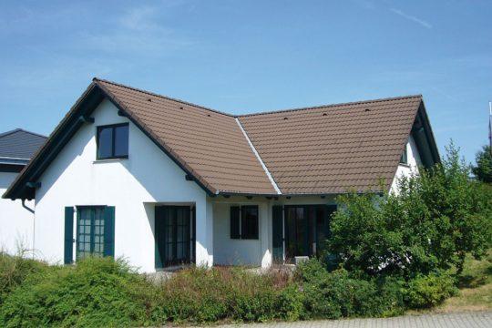 Automatisch gespeicherter Entwurf - Ein großes Backsteingebäude mit Gras vor einem Haus - Chemnitz