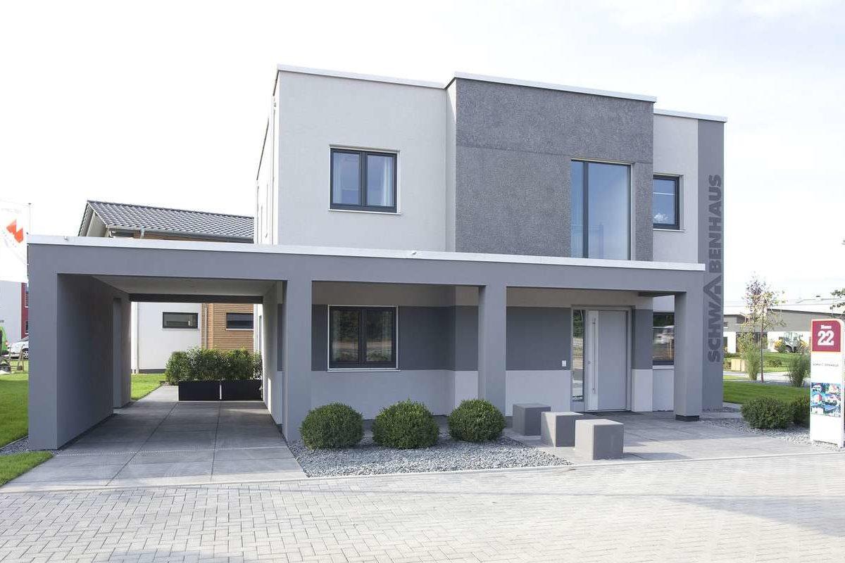 Automatisch gespeicherter Entwurf - Ein Backsteingebäude - Fassade