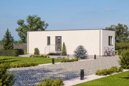 Automatisch gespeicherter Entwurf - Ein Haus mit Bäumen im Hintergrund - Haus