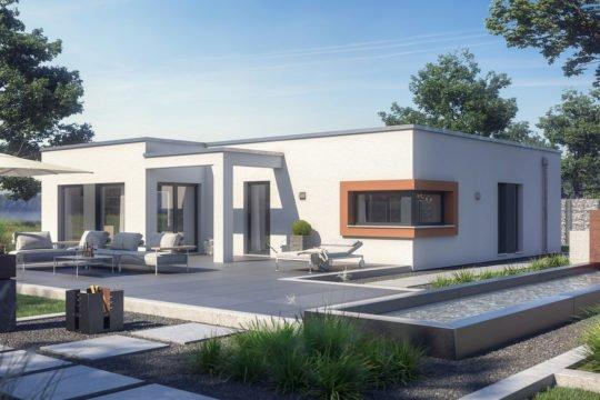 Automatisch gespeicherter Entwurf - Ein Haus, das an der Seite eines Gebäudes geparkt ist - Haus
