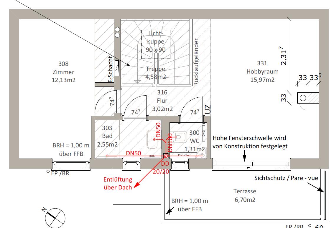 Kundenhaus Oliveira - Eine Nahaufnahme von einer Karte - Zeichnung