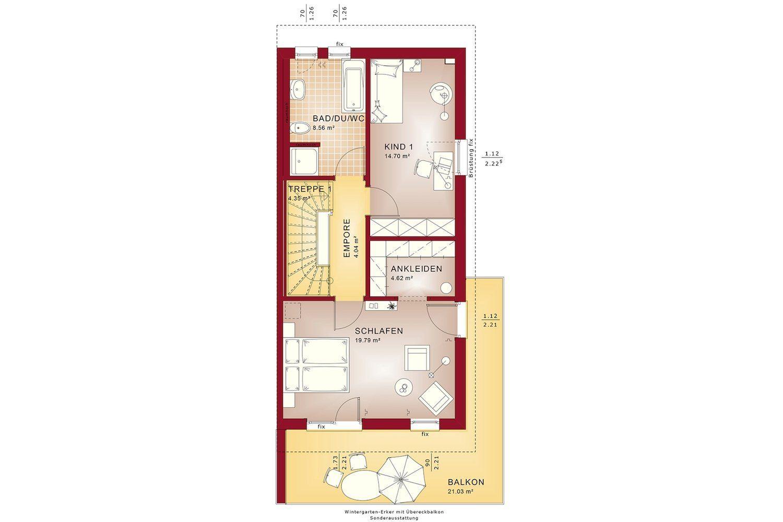CELEBRATION 114 V5 L - Gebäudeplan