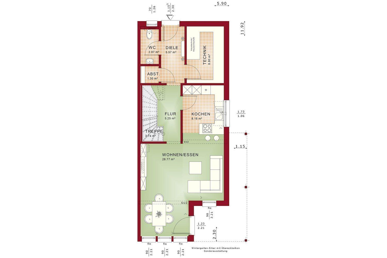 CELEBRATION 114 V5 L - Eine Nahaufnahme einer Uhr - Gebäudeplan