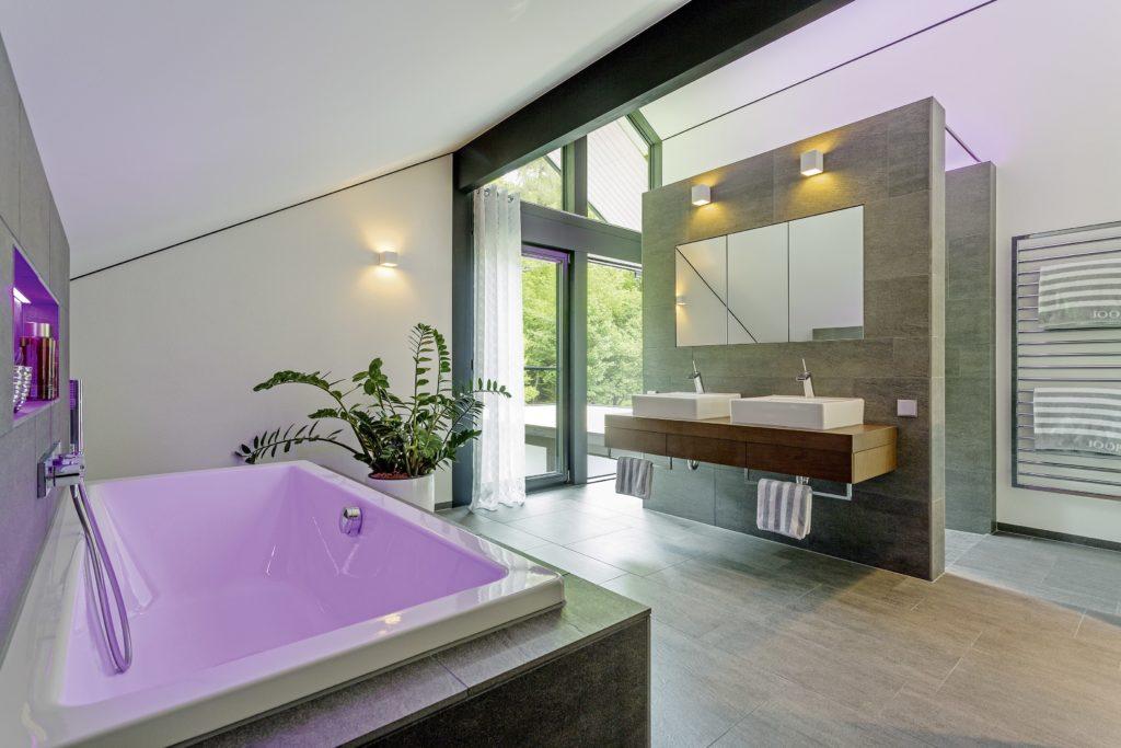 HUF HAUS MODUM 7 - Ein großer Raum - Bad