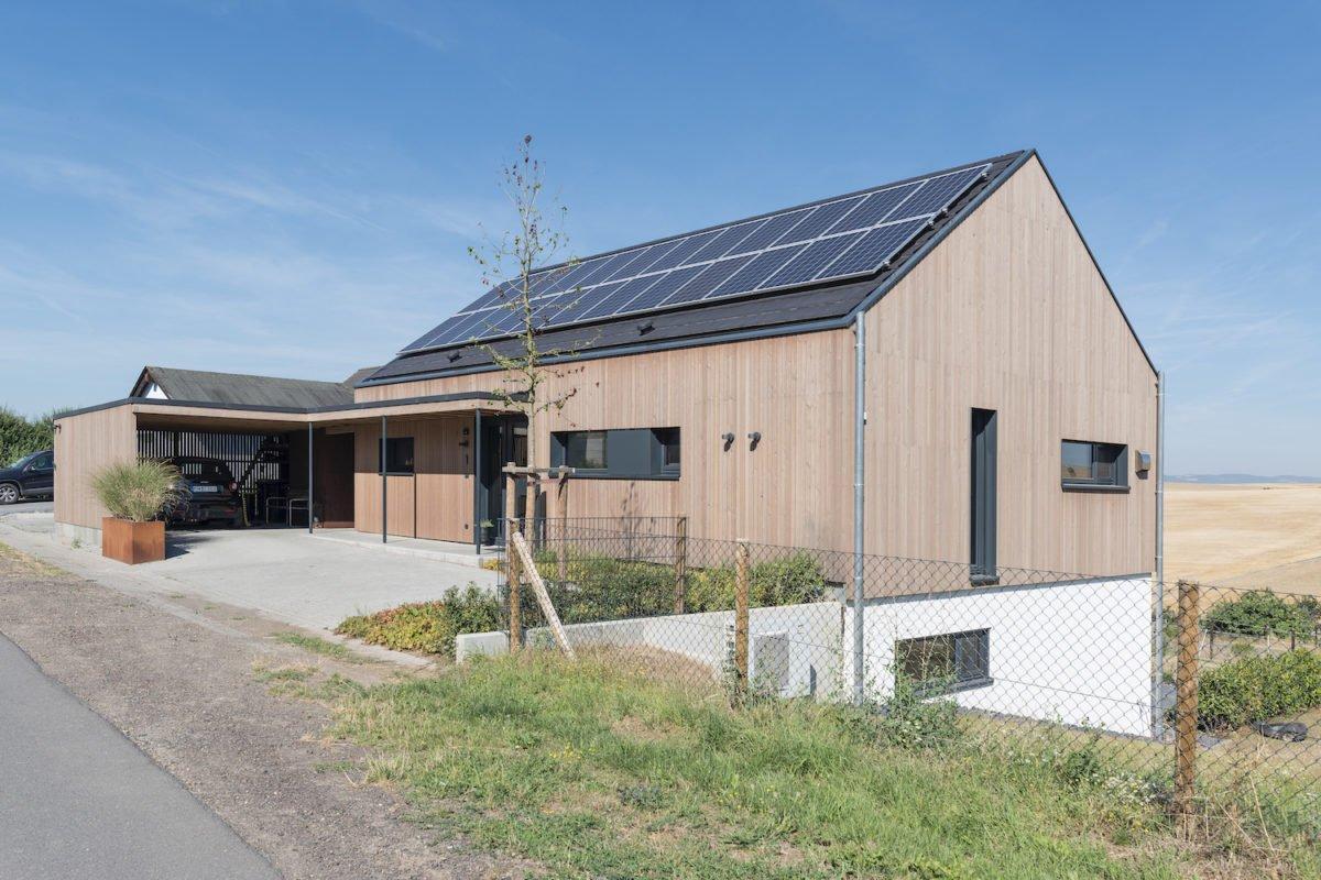 Kundenhaus Schaub - Ein Haus an der Seite eines Gebäudes - Ländliches Gebiet