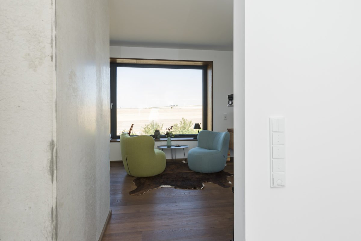 Kundenhaus Schaub - Ein Zimmer mit Holzboden - Fußboden