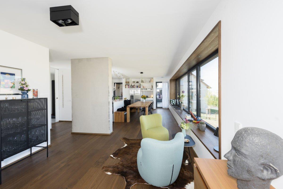 Kundenhaus Schaub - Ein Blick auf ein Wohnzimmer - Interior Design Services