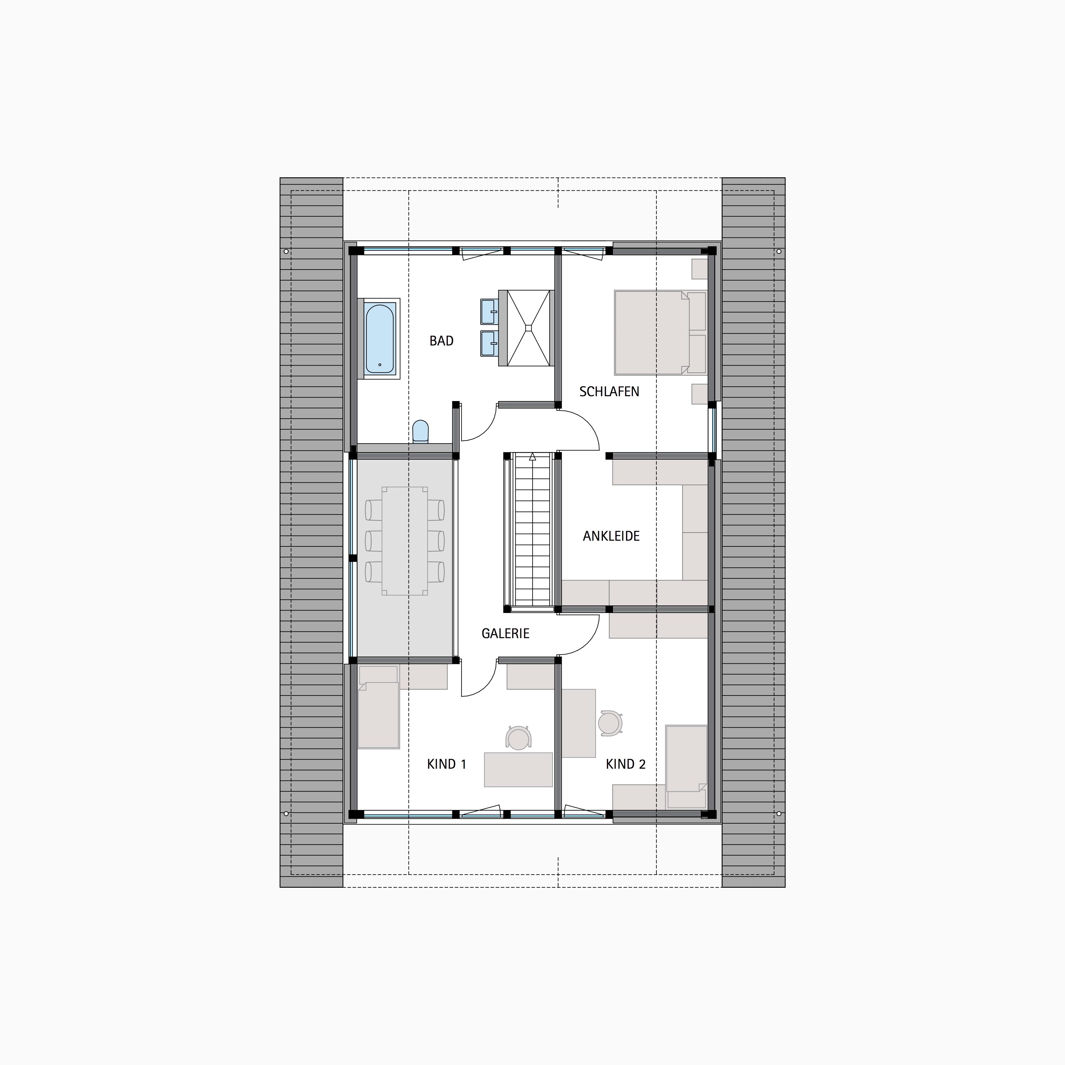 HUF HAUS MODUM 7 - Ein Screenshot eines Videospiels - Gebäudeplan