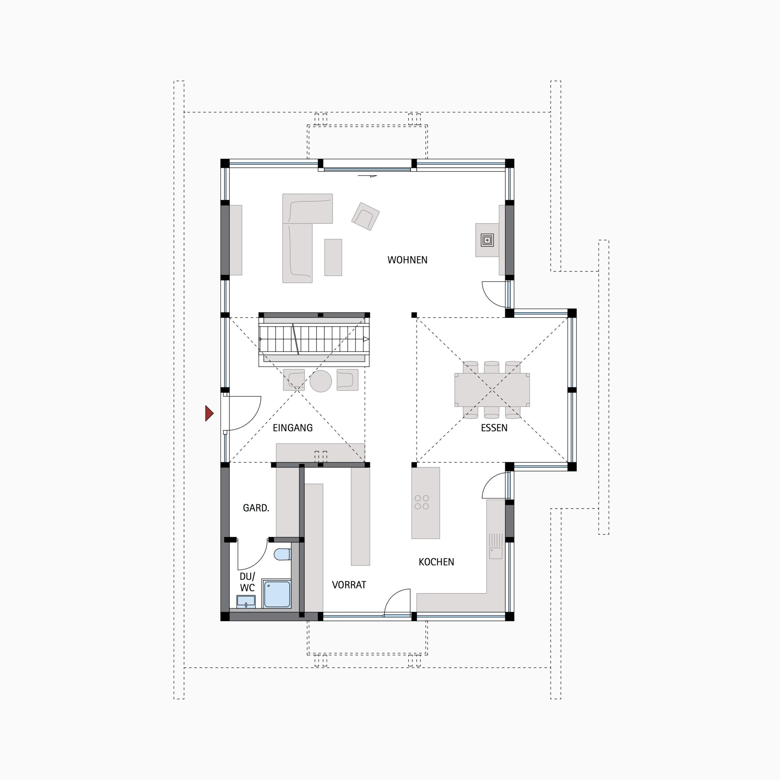HUF HAUS ART 3 - Die Architektur