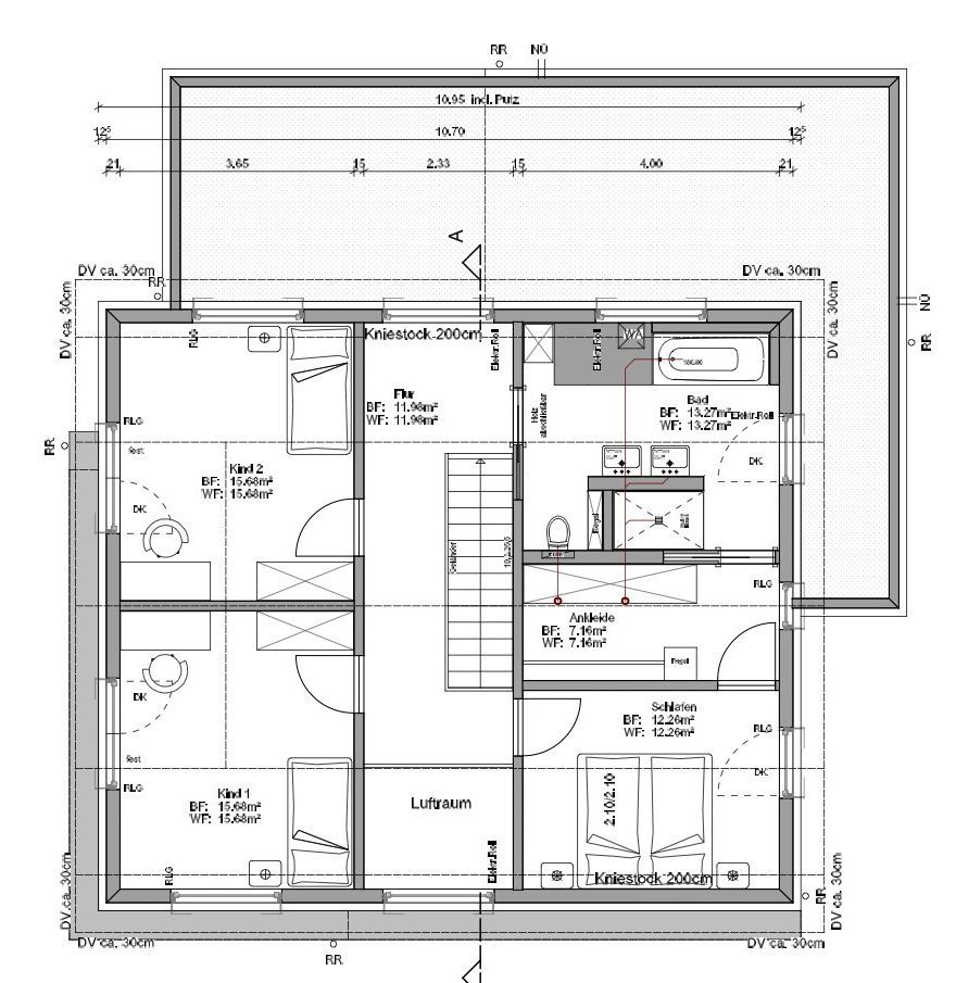 Kundenhaus Faber - Eine Nahaufnahme von einer Karte - Gebäudeplan