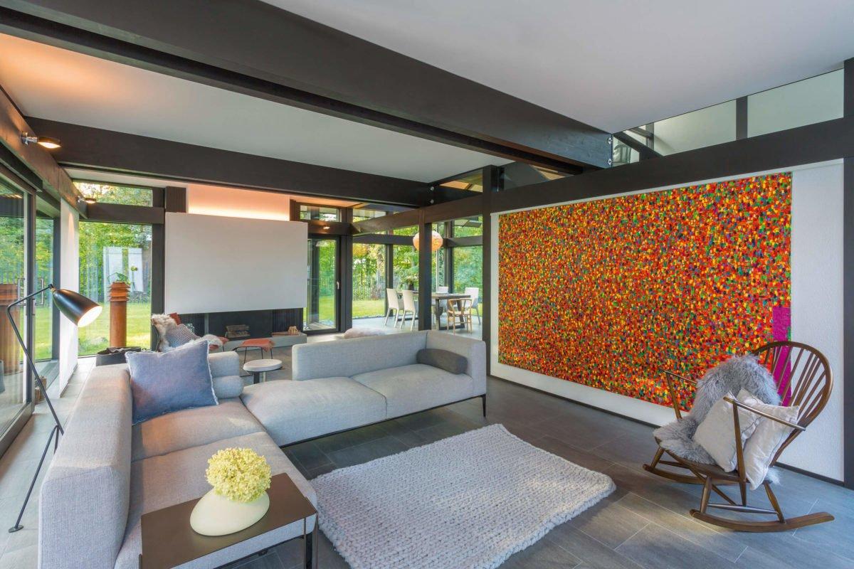 HUF HAUS ART 3 - Ein Screenshot eines Wohnzimmers - Interior Design Services