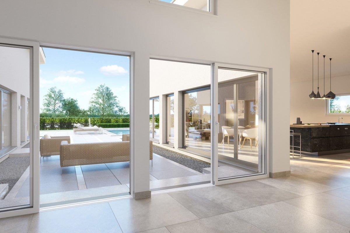 AMBIENCE 209 SD - Ein Wohnzimmer mit Möbeln und einem großen Fenster - Bungalow
