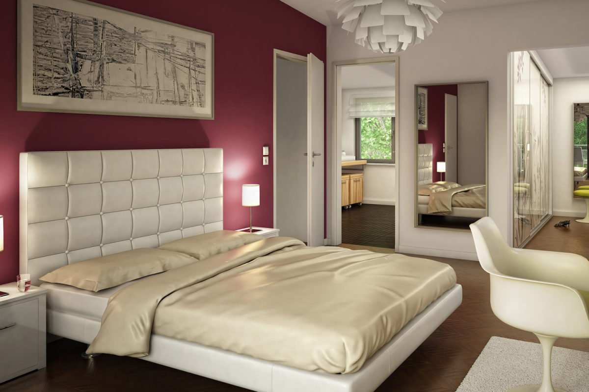CELEBRATION 114 V5 L - Ein Schlafzimmer mit einem großen Bett in einem Hotelzimmer - Bien-Zenker