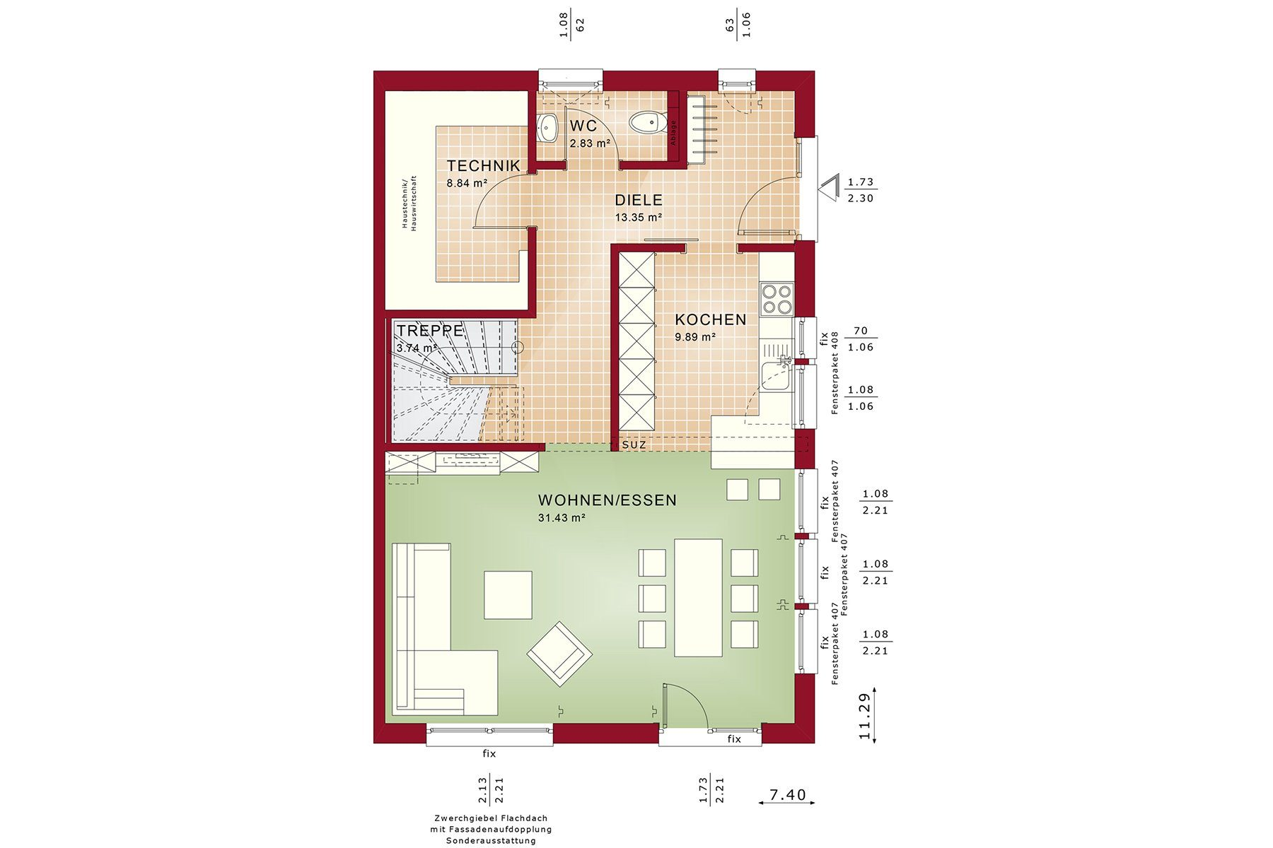 CELEBRATION 139 V2 - Eine nahaufnahme von text auf einem weißen hintergrund - Gebäudeplan