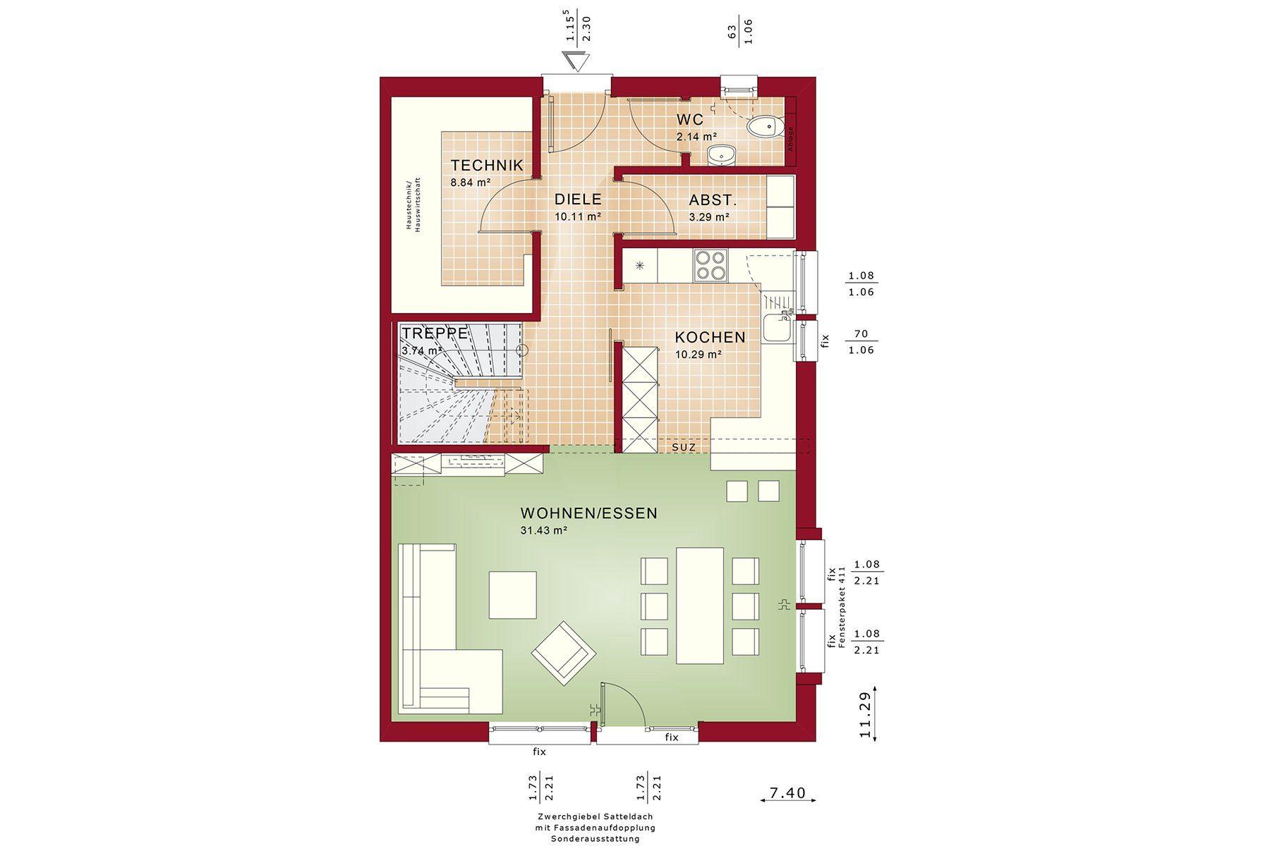 CELEBRATION 139 V3 - Gebäudeplan