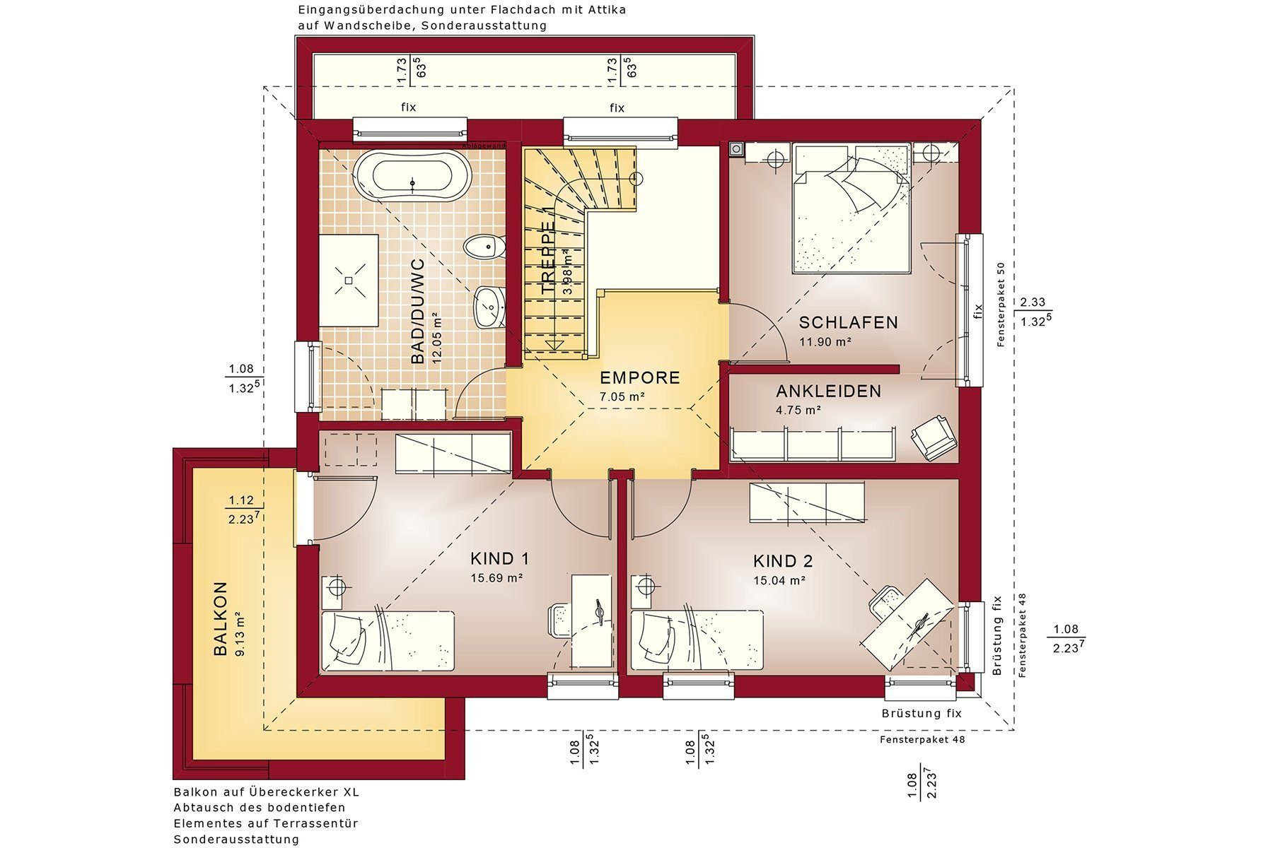 CONCEPT-M 145 Zweibruecken - Eine Nahaufnahme einer Uhr - Gebäudeplan