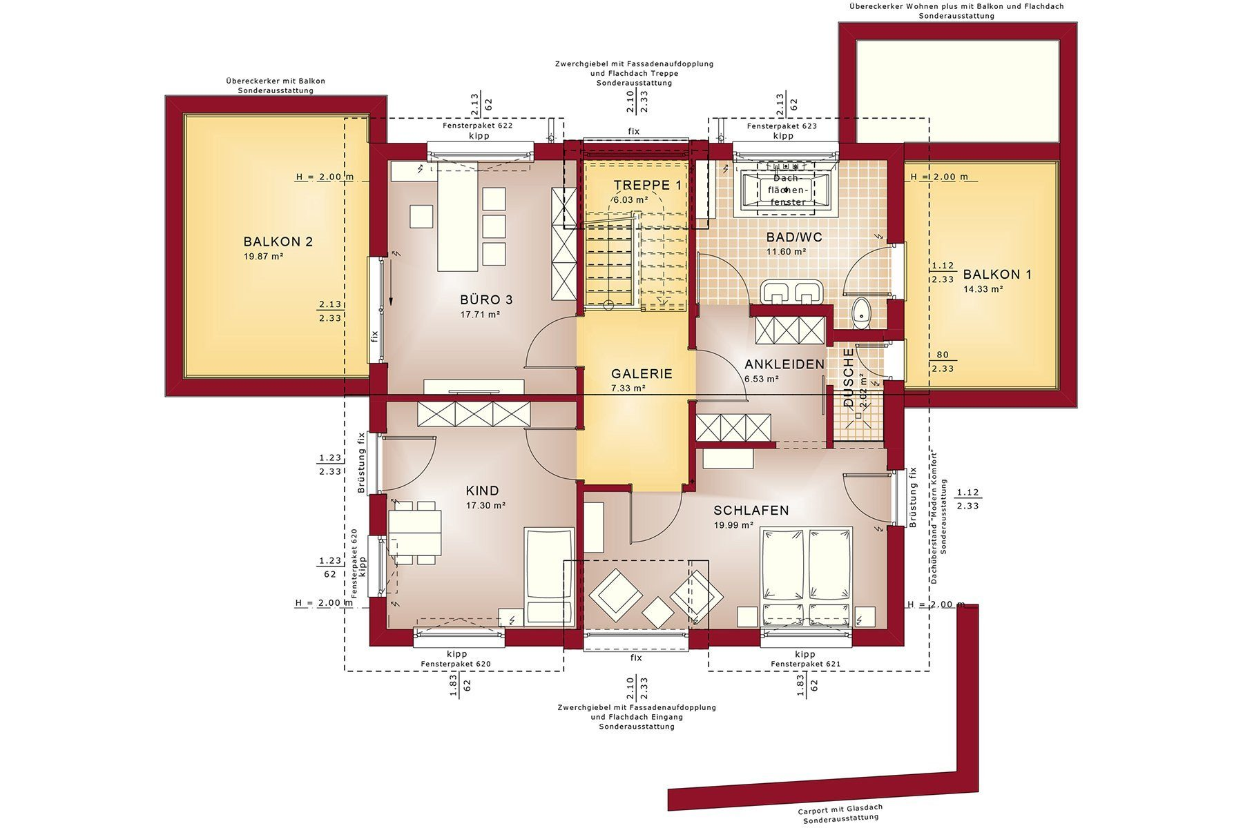 CONCEPT-M 154 Hannover - Ein Screenshot eines Videospiels - Gebäudeplan