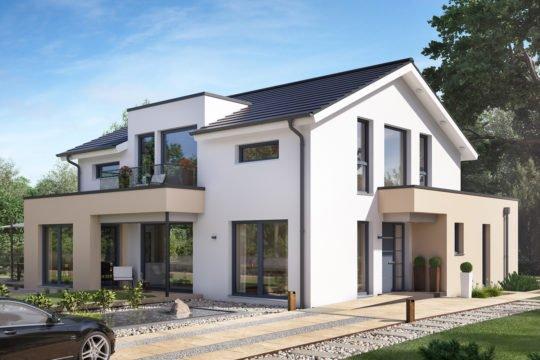 CONCEPT-M 154 Hannover - Ein Haus, das an der Seite eines Gebäudes geparkt ist - Haus-Plan
