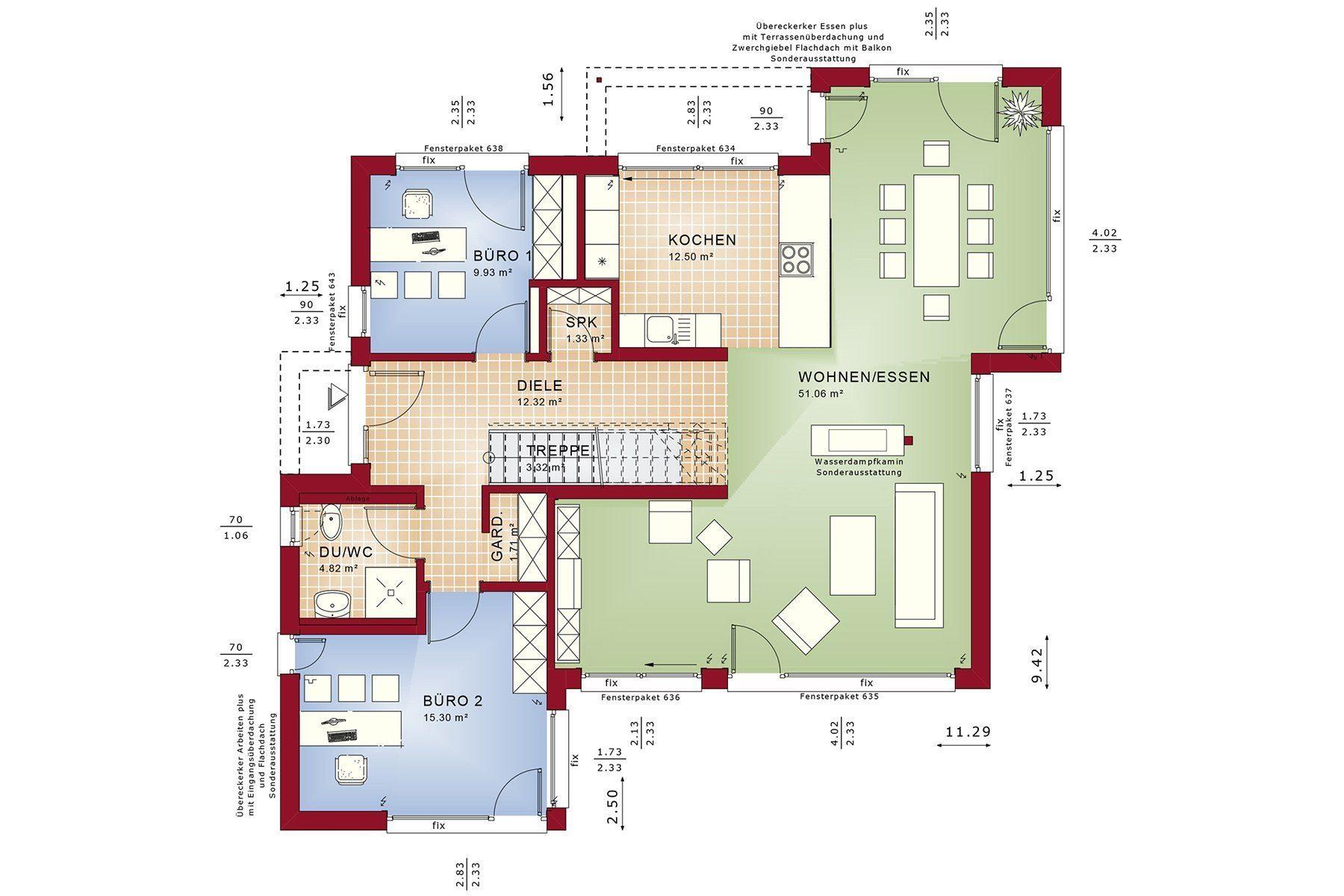 CONCEPT-M 155 Leipzig - Ein Screenshot eines Handys - Gebäudeplan