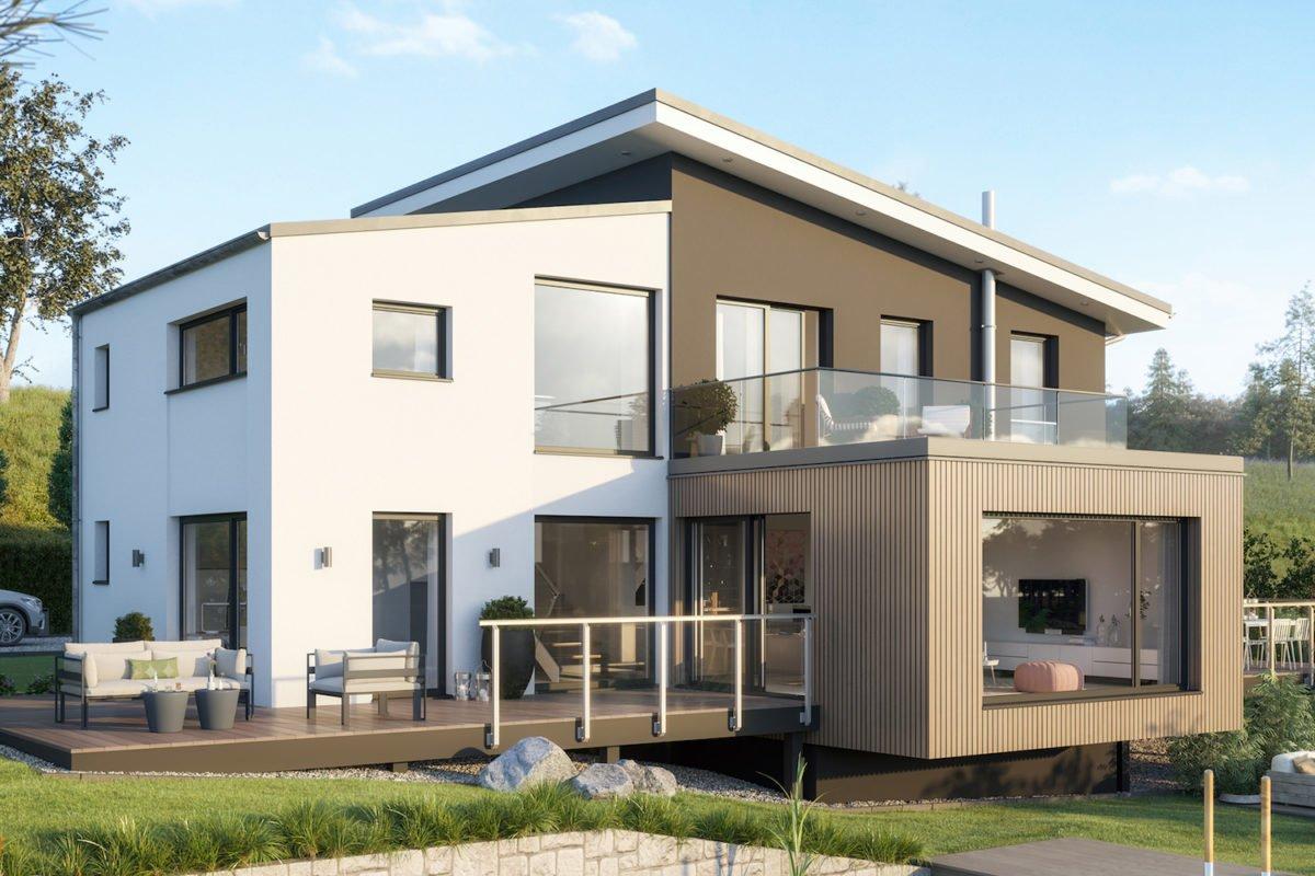 CONCEPT-M 170 Villingen-Schwenningen - Eine große Wiese vor einem Haus - Haus-Plan