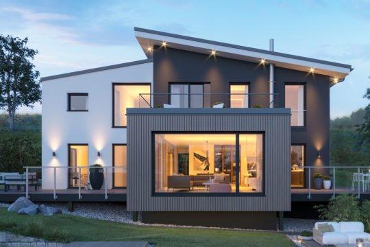 CONCEPT-M 170 Villingen-Schwenningen - Ein großes Backsteingebäude mit Gras vor einem Haus - Die Architektur