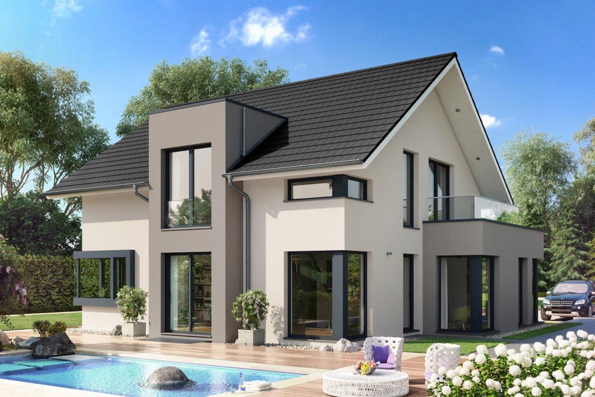 CONCEPT-M 159 Bad Vilbel - Ein Haus mit Bäumen im Hintergrund - Bien Zenker