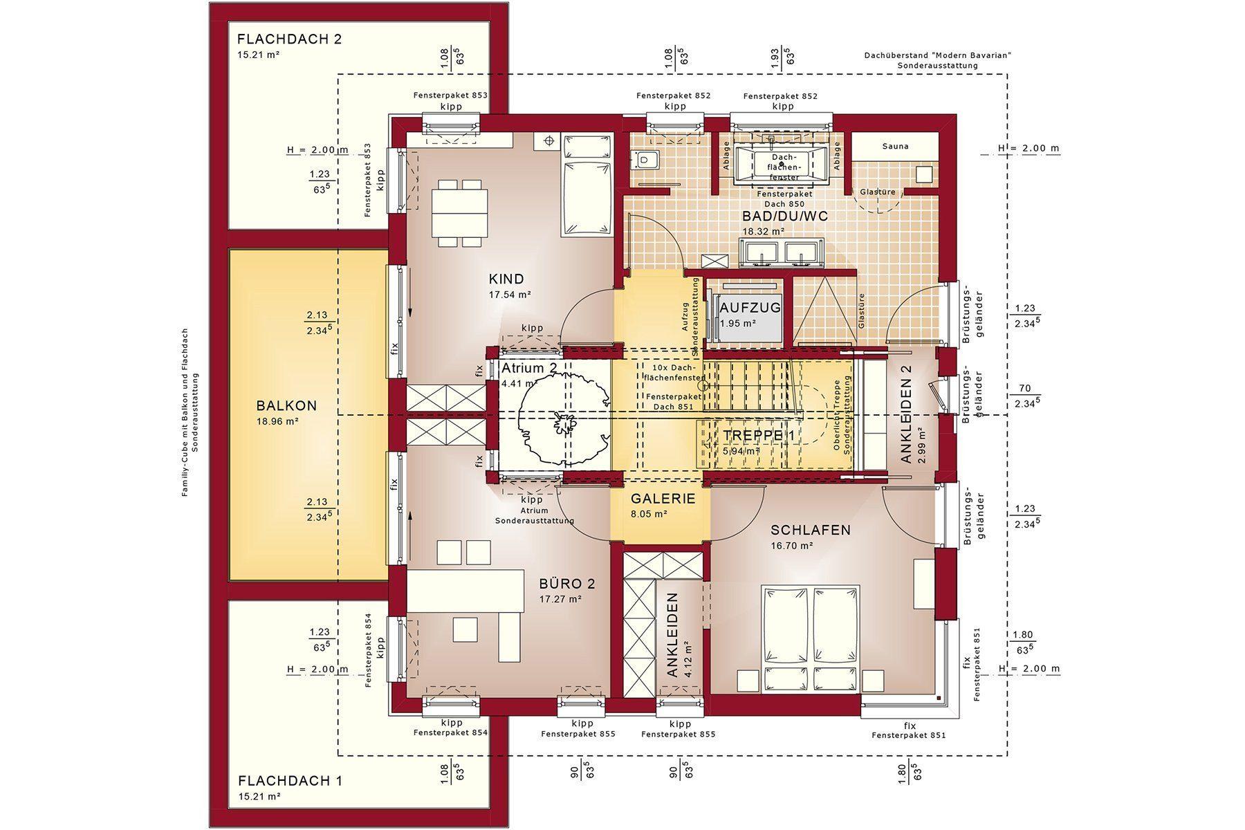 Gebäudeplan - Haus