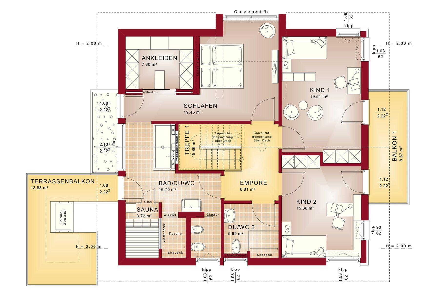 CONCEPT-M 163 München - Gebäudeplan