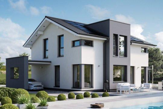 Automatisch gespeicherter Entwurf - Ein Haus mit Bäumen im Hintergrund - Bien Zenker