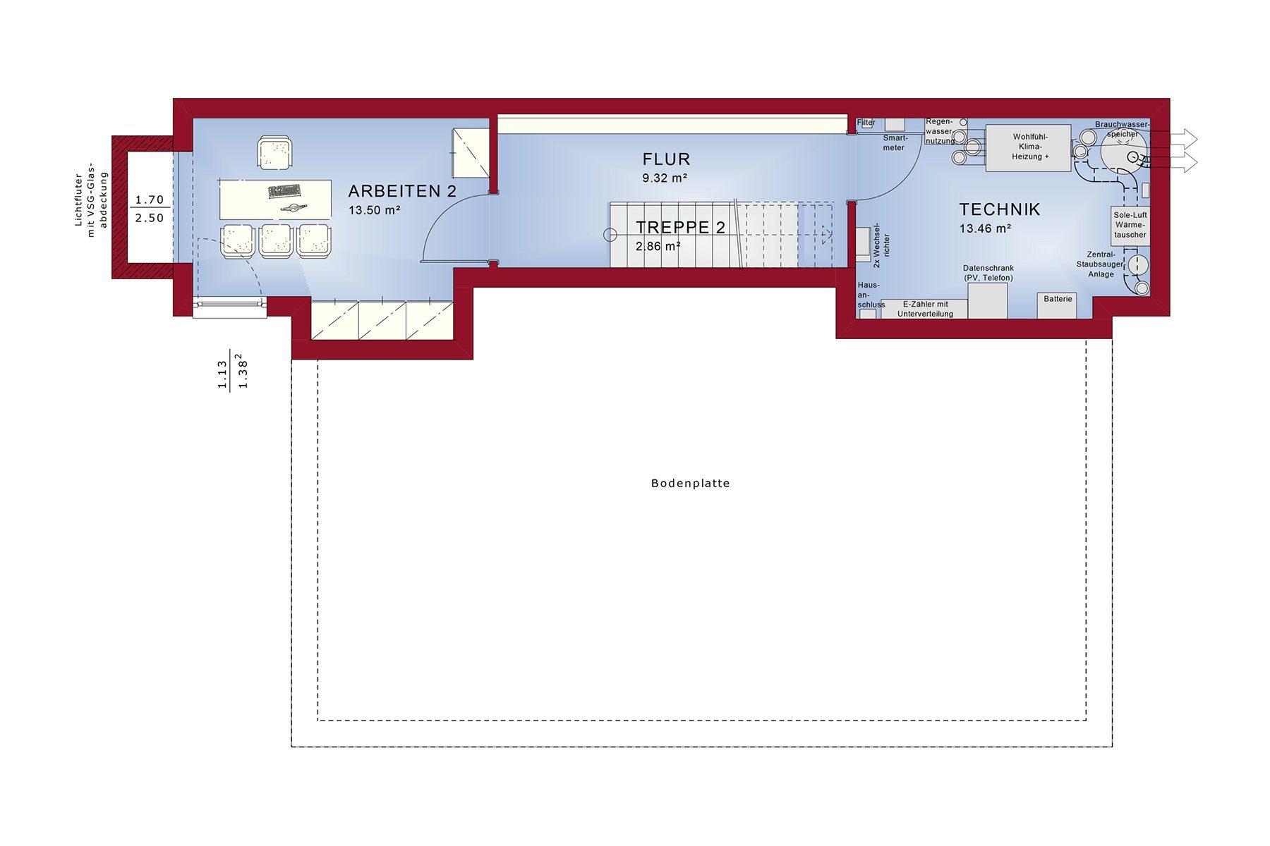 CONCEPT-M 165 Wuppertal - Ein Screenshot eines Handys - Gebäudeplan