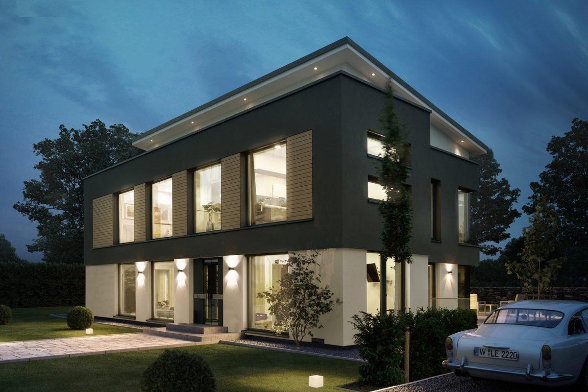 CONCEPT-M 165 Wuppertal - Ein großes weißes Gebäude - Haus