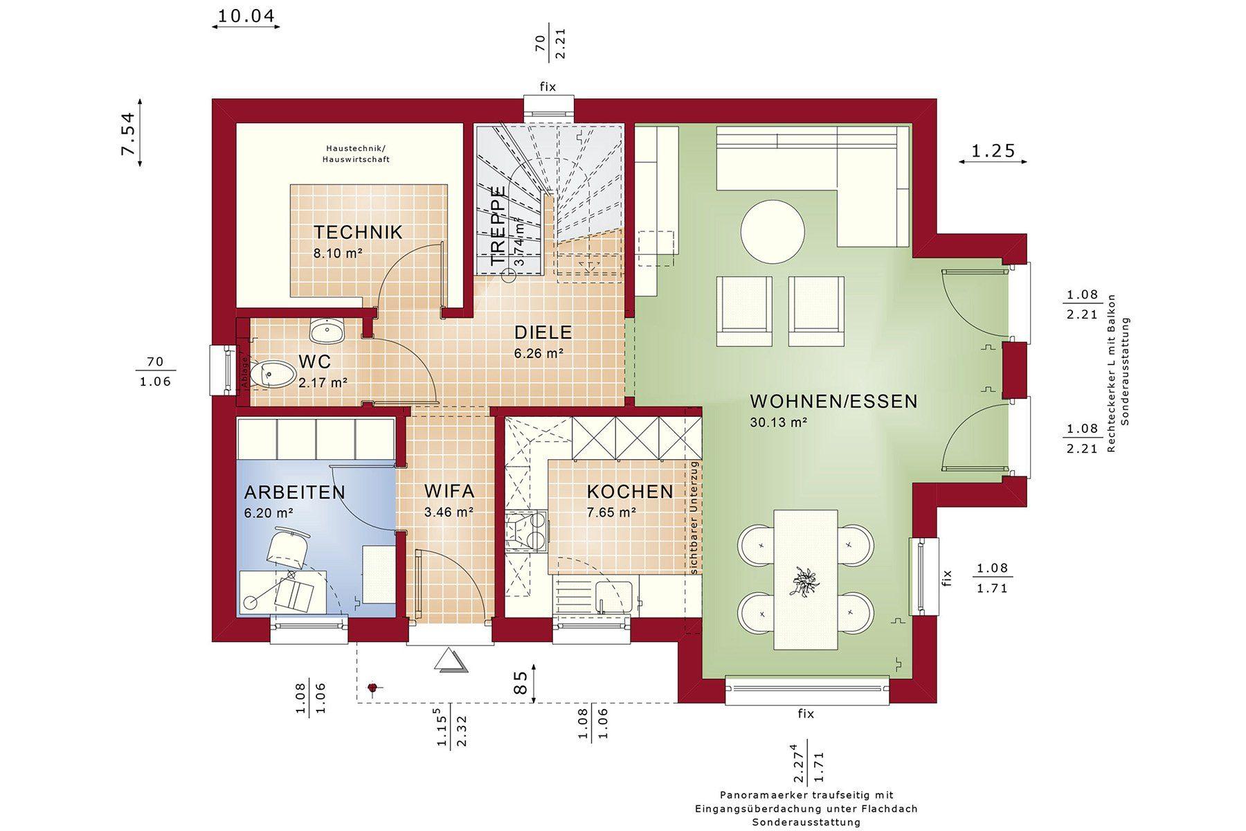 Edition 123 V4 - Gebäudeplan