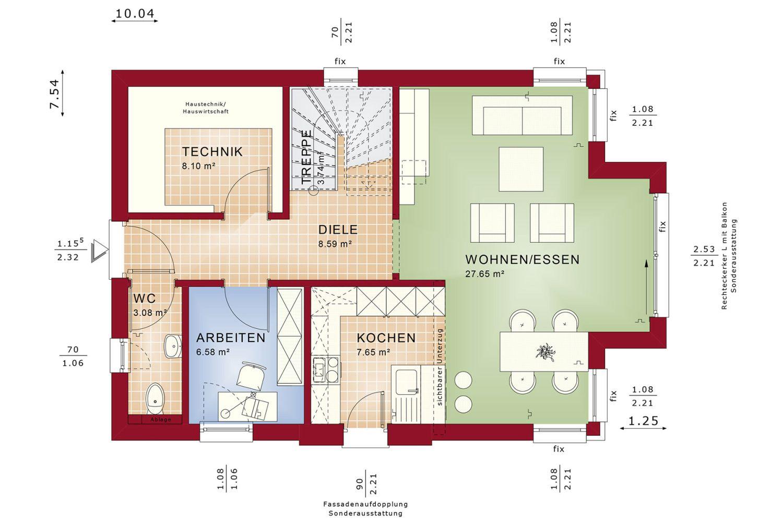 Edition 123 V5 - Ein Screenshot eines Videospiels - Gebäudeplan