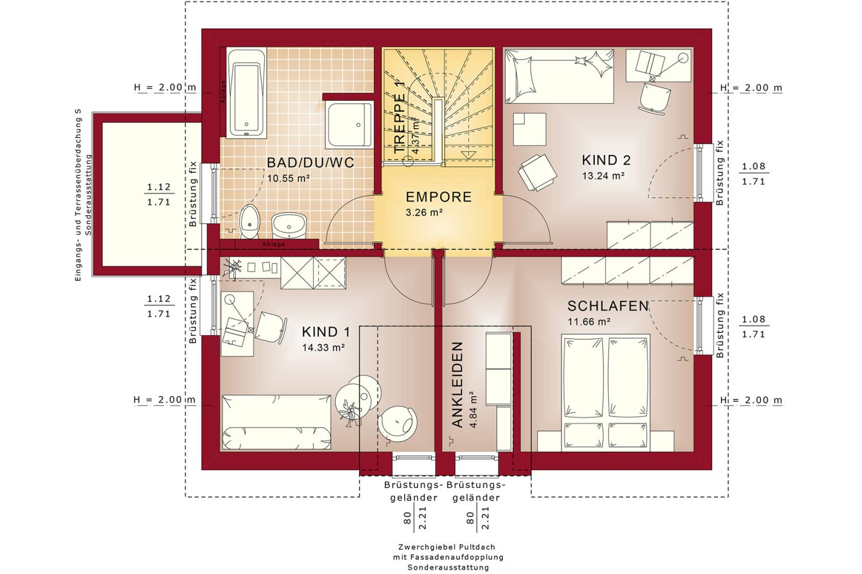 Edition 125 V3 - Ein Screenshot eines Handys - Gebäudeplan