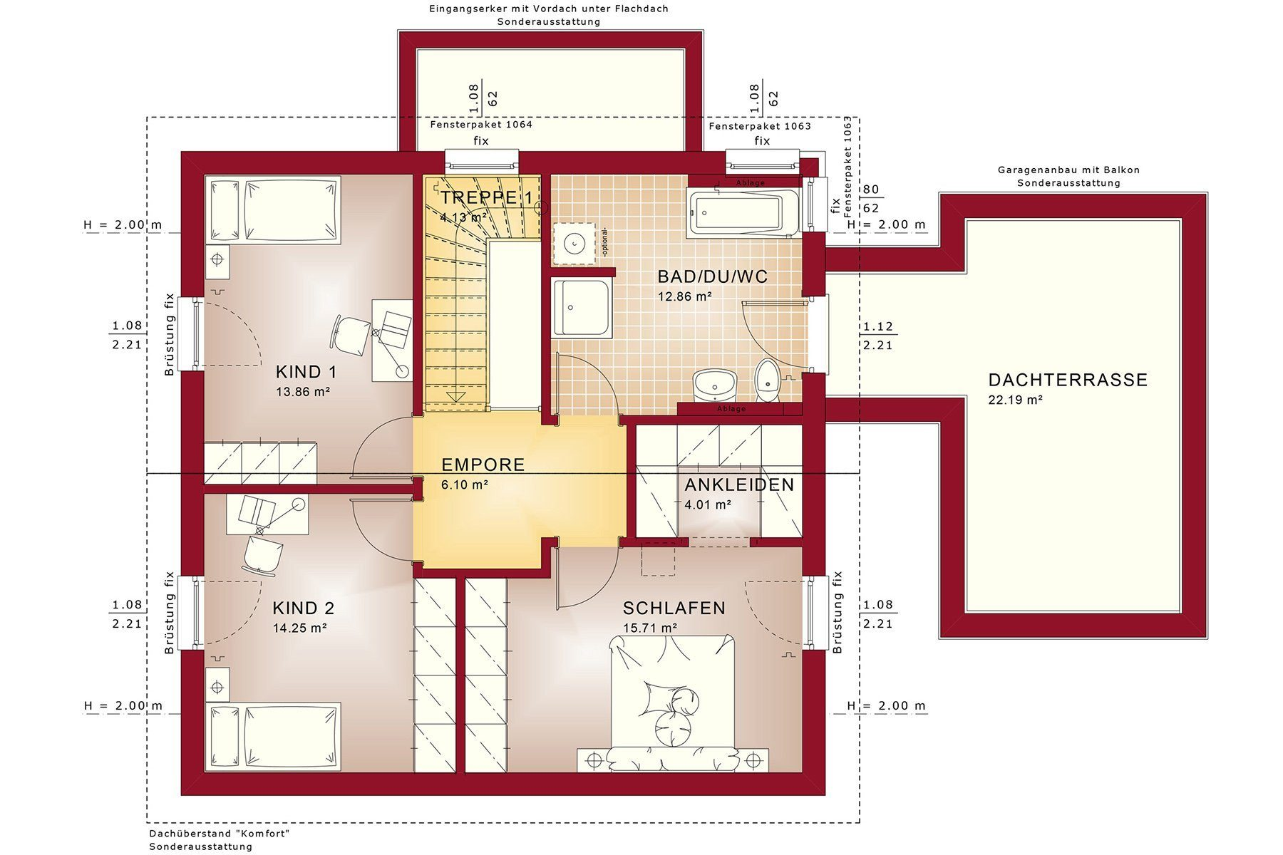 Gebäudeplan - Fußboden