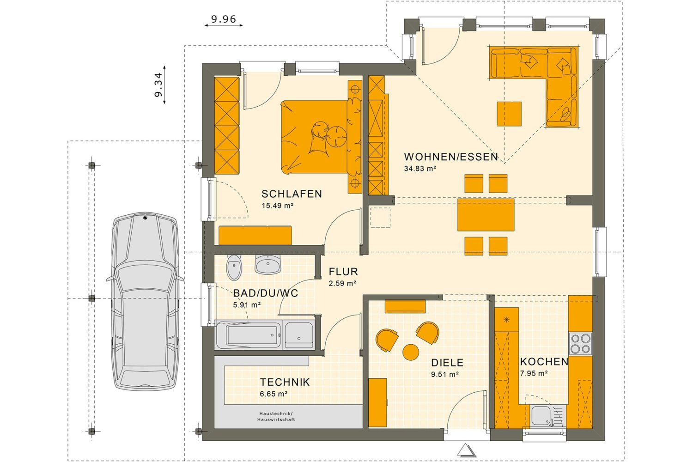 Satteldach - Haus