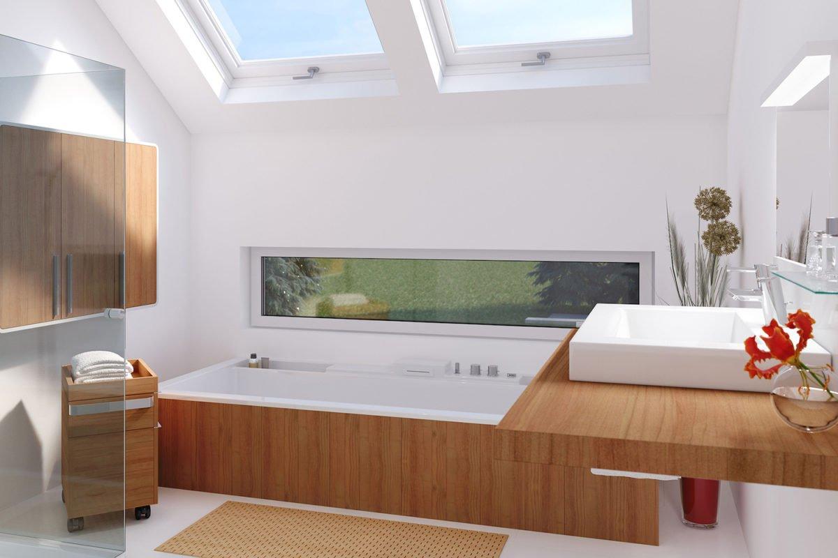 CONCEPT-M 159 Bad Vilbel - Ein Wohnzimmer mit Möbeln und einem großen Fenster - Haus