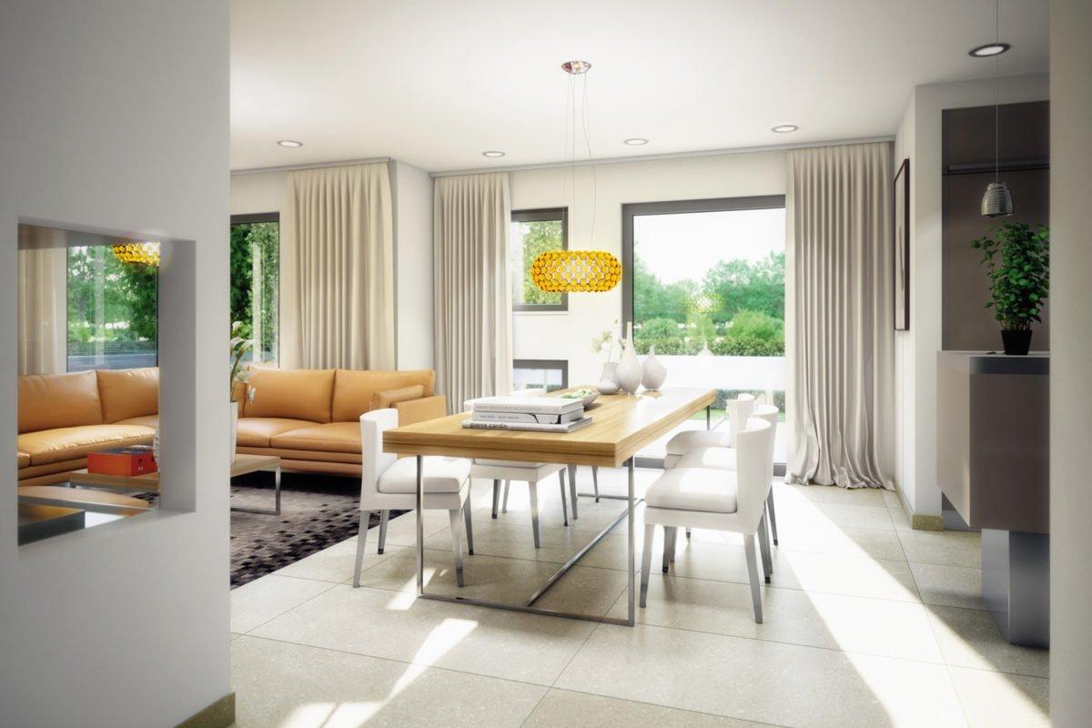 Automatisch gespeicherter Entwurf - Ein Raum voller Möbel und ein großes Fenster - Bien-Zenker GmbH Pfullingen