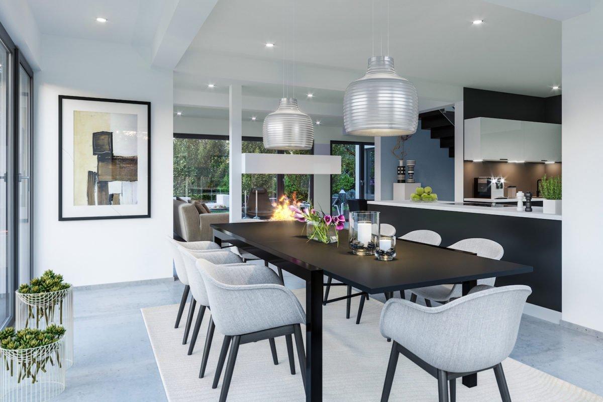 CONCEPT-M 155 Leipzig - Ein Raum voller Möbel und Blumenvasen auf einem Tisch - Interior Design Services
