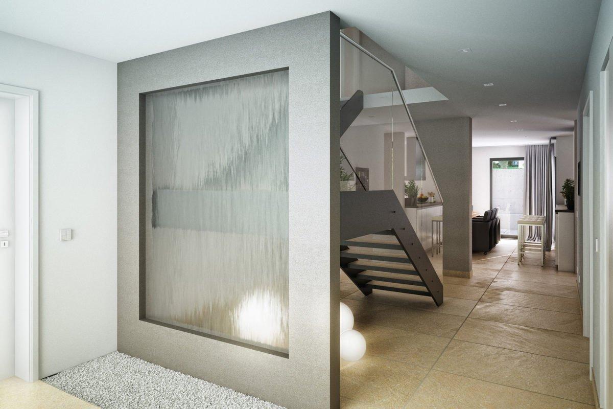 CONCEPT-M 163 München - Ein zimmer mit waschbecken und spiegel - Einfamilienhaus