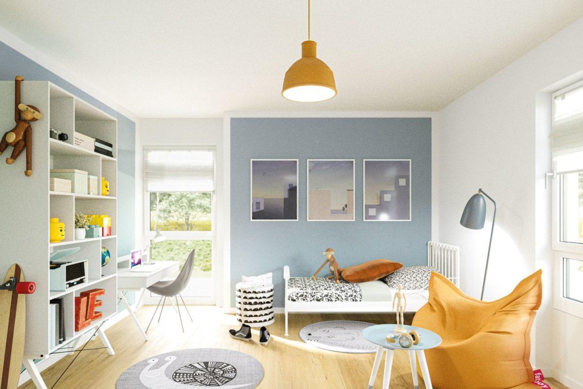 Automatisch gespeicherter Entwurf - Ein Wohnzimmer mit Möbeln und einem großen Fenster - Duplex