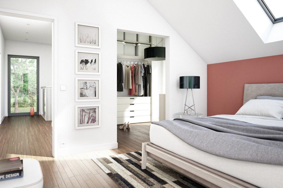 CONCEPT-M 159 Bad Vilbel - Ein Schlafzimmer mit einem großen Bett in einem Hotelzimmer - Bien Zenker