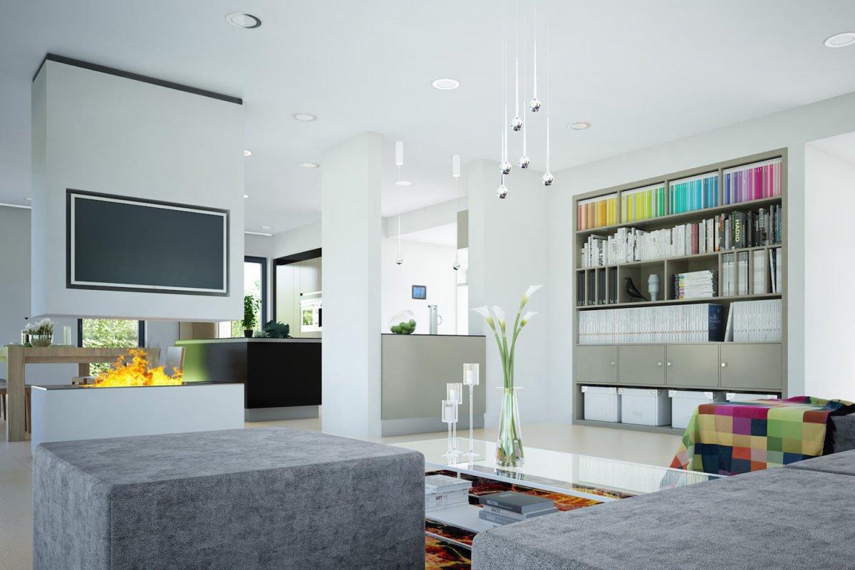 CONCEPT-M 165 Wuppertal - Ein Wohnzimmer mit Möbeln und einem Flachbildfernseher - Haus